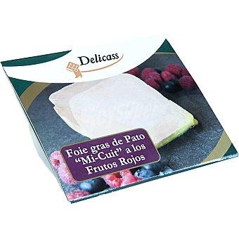 Delicass Foie gras de pato mi-cuit a los frutos rojos Estuche 120 g