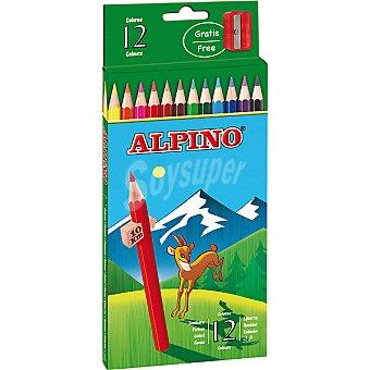 Alpino Ápices de colores Estuche con 12 l
