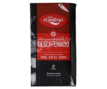 El Gallego Café molido descafeinado natural Esencia 250 g