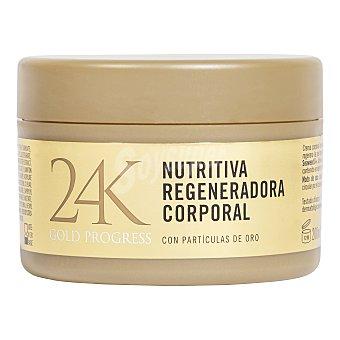 Deliplus Crema corporal oro gold progress 24K (nutritiva y regeneradora) Tarro 200 cc