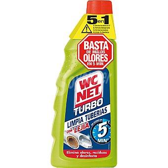 WC Net Limpia tuberías turbo con lejía sin olores en 5 min Botella 500 ml
