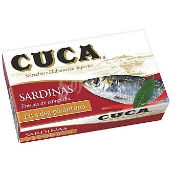 Cuca Sardinas picantonas Lata de 85 grs