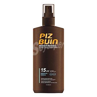 Piz buin Spray solar Ultra light SPF 15 Piz Buin 200 ml