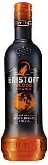 Eristoff blood orange Vodka premium con sabor a naranjas sanguinas ersitoff blood orange Botella de 70 cl