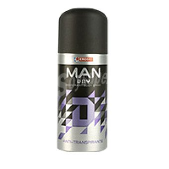 Eroski Desodorante spray Man Dry Spray 150 ml