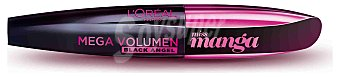 L'Oréal Paris Máscara Megavolumen Miss Manga Black Angel de l´oreal Paris 1 ud