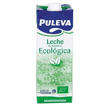 Puleva Leche Semidesnatada Ecológica Brik 1 litro