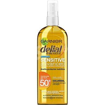 Garnier Advanced aceite protector nutritivo FP-50 resistente al agua para pieles claras sensibles e intolerantes al sol spray de 150 ml