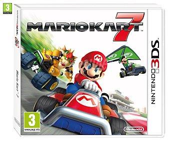 Nintendo Videjuego Mario Kart 7 para 3DS, 3DSXL. Género: Carreras, conducción, arcade. pegi: +3