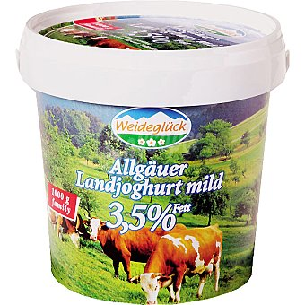 WEIDEGLUCK YOGUR NATURAL Weidegluck yogur natural Envase 1 kg