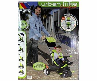 MOLTO Triciclo Evolutivo Urban Trike Color Verde 1 Unidad