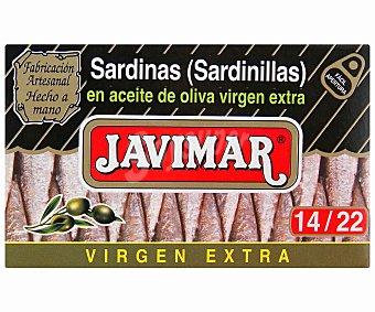 Javimar Sardinillas en Aceite de Oliva Virgen Extra 120 Gramos