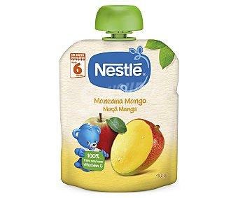 Nestlé Bolsita de fruta (mango y manzana) a partir de 6 meses 90 g