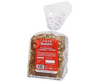 Pan Especial Pan integral semillas 5 cereales 400 gramos