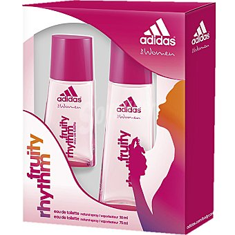 Adidas Eau de toilette natural femenina Fruity Rhythm vaporizador 75 ml + miniatura spray 30 ml 75 ml
