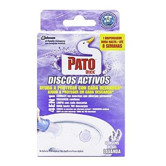 Pato Discos activos lavanda 6 ud