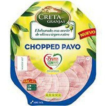Creta Granja Chopped de pavo al plato Bandeja 120 g