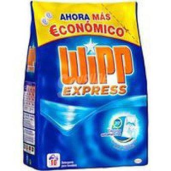 WIPP Detergente máquina polvo bolsa 10 dosis