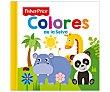 Colores de la selva, VV.AA. Género: infantil, preescolar. Editorial Fisher Price.  Fisher-Price