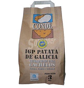 Gallega Patata cachelo Bolsa 3 kgs