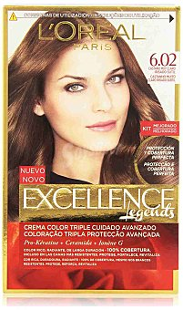 Excellence L'Oréal Paris Coloración Excellence Crème Triple Protección 6.02 de l'oréal Paris 1 ud