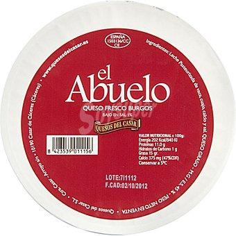 El Abuelo Queso fresco de Burgos peso aproximado Tarrina 820 g
