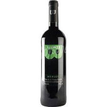 Bronte Vino Tinto De La Tierra de Castilla Merlot Botella 75 cl