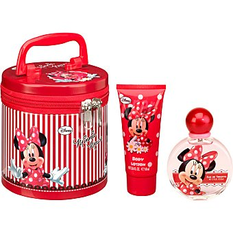DISNEY Minnie Mouse eau de toilette natural infantil + body lotion tubo 60 ml spray 50 ml