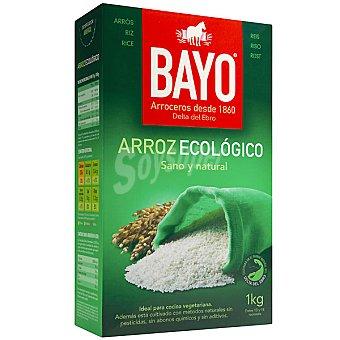 BAYO Arroz blanco ecológico Paquete 1 kg