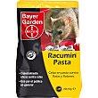 Racumin cebo en pasta contra ratones y ratas 20 unidades de 10 g 20 unidades de 10 g Bayer