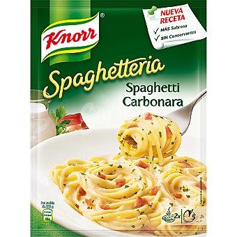 Knorr Espaguetis a la carbonara Spaguetteria Sobre 167 g