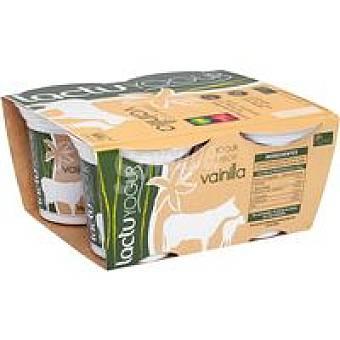 LACTUYOGUR Yogur de vainilla Pack 4x125 g