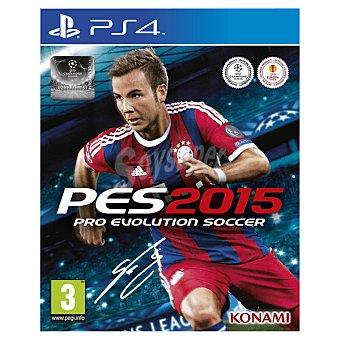 PS4 Videojuego PES 2015 para PS4