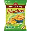 Nachos sabor natural bolsa 200 g Mexifoods