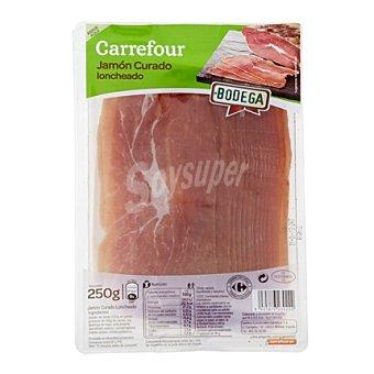 Carrefour Jamón curado en lonchas 250 g
