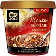 Supreme mousse de chocolate con caramelo y trozos de avellanas envase 170 g Envase 170 g Gold Nestlé