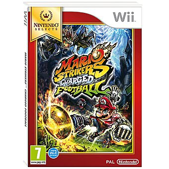 WII Wii videojuego Strikers Charged Football  1 unidad