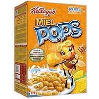 Miel Pops Kellogg's Cops de maí inflado con miel y azúcar  375 g