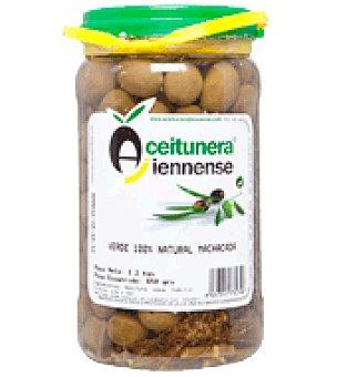 Aceitunera Jiennense Aceituna verde natural machacada 650 g