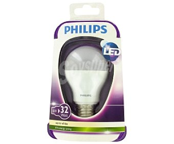 Philips Bombilla led, 6W (equivalencia 32W), casquillo E27, blanca cálida, 230V, forma A60 mate no regulable 1u