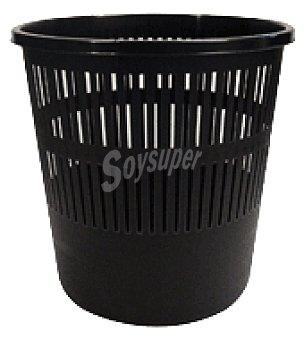 Carrefour Papelera negro Unidad