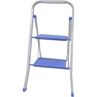 Hipercor R-26702 escalera con 2 peldaños en color azul