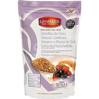 Linwoods Semillas de lino con girasol calabaza sésamo y bayas de Goji ecológicas Envase 425 g