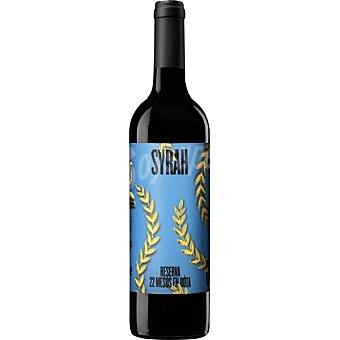 Casa mariol Vino tinto syrah reserva D.O. Terra alta crianza 22 meses en barrica de roble francés botella 75 cl botella 75 cl