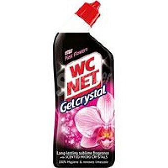 WC Net Gel Crystal Pink Flower Botella 750 ml