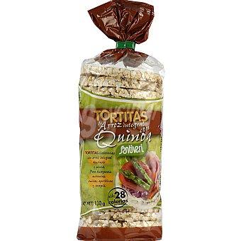 SANTIVERI tortitas de arroz quinoa  envase 130 g