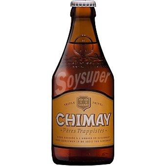 Chimay Cerveza rubia belga trapense triple Botella de 33 cl