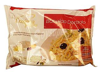Cozinha Pron Bacalao dorado cocinado congelado Paquete 240 g