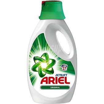 Ariel Detergente máquina líquido con actilift botella 27 dosis 27 dosis