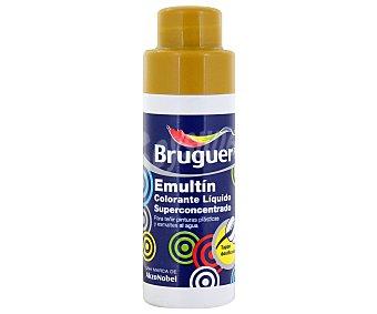 BRUGUER Colorante líquido superconcentrado Emultin, de color ocre 0,5 litros